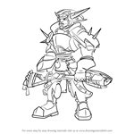 How to Draw Sig from Jak and Daxter