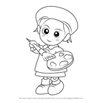 How to Draw Adeleine from Kirby