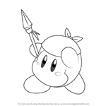 How to Draw Bandana Waddle Dee from Kirby