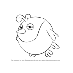 How to Draw Big Birdee from Kirby