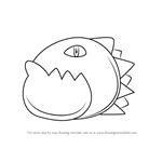 How to Draw Galbo from Kirby