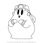 How to Draw Mabel from Kirby