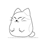 How to Draw Nago from Kirby