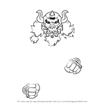 How to Draw Necrodeus from Kirby