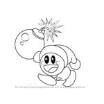 How to Draw Poppy Bros. Jr. from Kirby