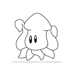 How to Draw Squishy from Kirby
