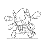 How to Draw Taranza from Kirby