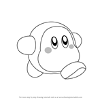 How to Draw Waddle Dee from Kirby
