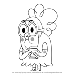 How to Draw Bertha from Grojband