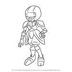 How to Draw Icknite from Medabots
