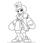How to Draw Neutranurse from Medabots