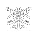 How to Draw Paradiver from Medabots