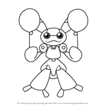 How to Draw Rappy from Medabots