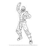 How to Draw Noob Saibot from Mortal Kombat