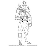 How to Draw Quan Chi from Mortal Kombat