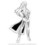 How to Draw Sindel from Mortal Kombat