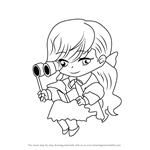 How to Draw Musical Guest from Mystic Messenger