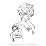 How to Draw Unknown from Mystic Messenger