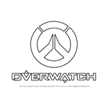 How to Draw Overwatch Logo
