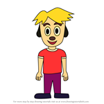 How to Draw Matt Major from PaRappa The Rapper