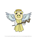 How to Draw Angel from Piggy