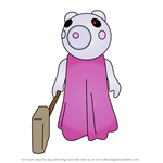 How to Draw Sheepy from Piggy