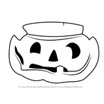 How to Draw Pumpkin from Plants vs. Zombies