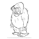 How to Draw Zombie Yeti from Plants vs. Zombies