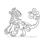 How to Draw Kommo-o from Pokemon Sun and Moon