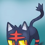 How to Draw Litten from Pokemon Sun and Moon