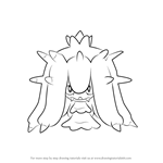 How to Draw Mareanie from Pokemon Sun and Moon