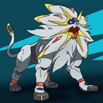 How to Draw Solgaleo from Pokemon Sun and Moon