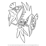How to Draw Tapu Koko from Pokemon Sun and Moon