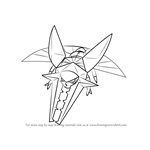 How to Draw Vikavolt from Pokemon Sun and Moon