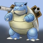 How to Draw Blastoise from Pokemon GO