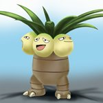 How to Draw Exeggutor from Pokemon GO