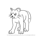 How to Draw Persian from Pokemon GO