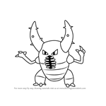 How to Draw Pinsir from Pokemon GO