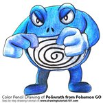 How to Draw Poliwrath from Pokemon GO