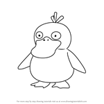 How to Draw Psyduck from Pokemon GO