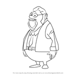 How to Draw Inspector Gilbert from Professor Layton