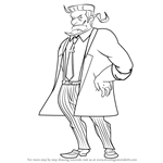 How to Draw Justin Lawson from Professor Layton