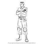 How to Draw Richard Aiken from Resident Evil