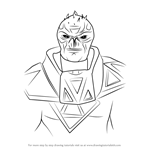 How to Draw Zinyak from Saints Row