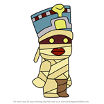 How to Draw Ahmose from Scribblenauts