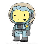How to Draw Buzz from Scribblenauts