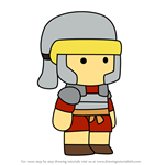 How to Draw Claudius from Scribblenauts