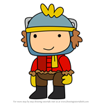 How to Draw Flurry from Scribblenauts