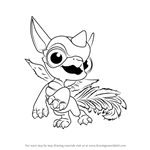 How to Draw Breeze from Skylanders