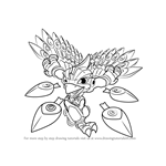How to Draw Stormblade from Skylanders